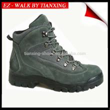chaussures de sécurité à embout d'acier et semelle extérieure en caoutchouc