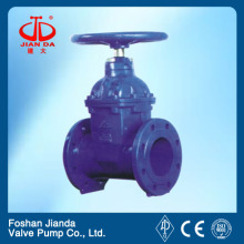 Cast steel resilient seated gate valve/stem gate valve/water gate valve