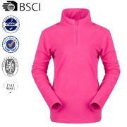 New design Lightweighted Ladies fleece Jacket