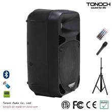 Popular caixa de alto-falante de 10 polegadas de plástico com excelente desempenho