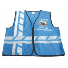High Visibility Safety Vest with Blue Color