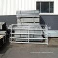 Painéis galvanizados da cerca da fazenda de criação de gado do metal para o cavalo & os touros