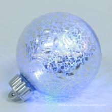 mini bateria ativada por Natal acende bolas