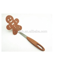 Kreatywny Nylon Gingerbread Man Slotted Kitchen Turner