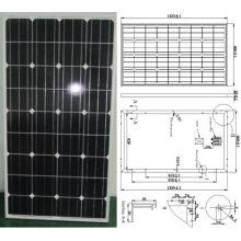 18V 110W 115W 120W monokristallines Solarmodul-PV-Modul mit Ce genehmigt (SMP-110W)