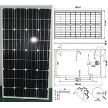 18V 110W 115W 120W Monocrystalline Solar Panel PV Module with Ce Approved (SMP-110W)
