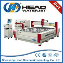 Máquina para a máquina de corte do dissipador de cerâmica do waterjet da fábrica pequena