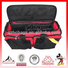 Bolsa de oxígeno de lujo, primeras bolsas de fuego con divisores internos ajustables y correa en caso de HCFA0010