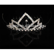 Princess Crystal mini Tiaras Comb/coronet