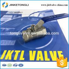 JKTL1B030 control remoto 1pc racor de válvula de bola de acero inoxidable de 90 grados