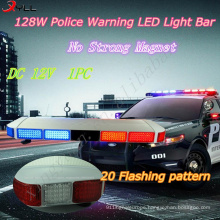 128W Police warning LED light bar /Emergency warning light bar/Flashing beacon light bar