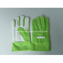 Green Garden Glove-Kids Glove-Safety Glove-Guante de trabajo