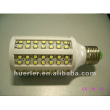 New style plastic 7w e27 b22 dimmable led corn light smd5050