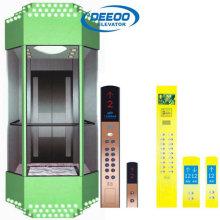 Горячая Продажа Коммерческих Стеклянный Лифт