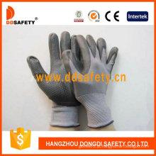 Alto Grau de Flexibilidade e Durabilidade Nylon PU Luvas (DPU412)