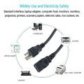 1.2m US plug IEC60320 C13 Power Cords