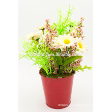 Decoración de la etapa de la flor artificial de la primavera