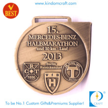 Fashion Custom Metal 10km Half Marathon Run Medal