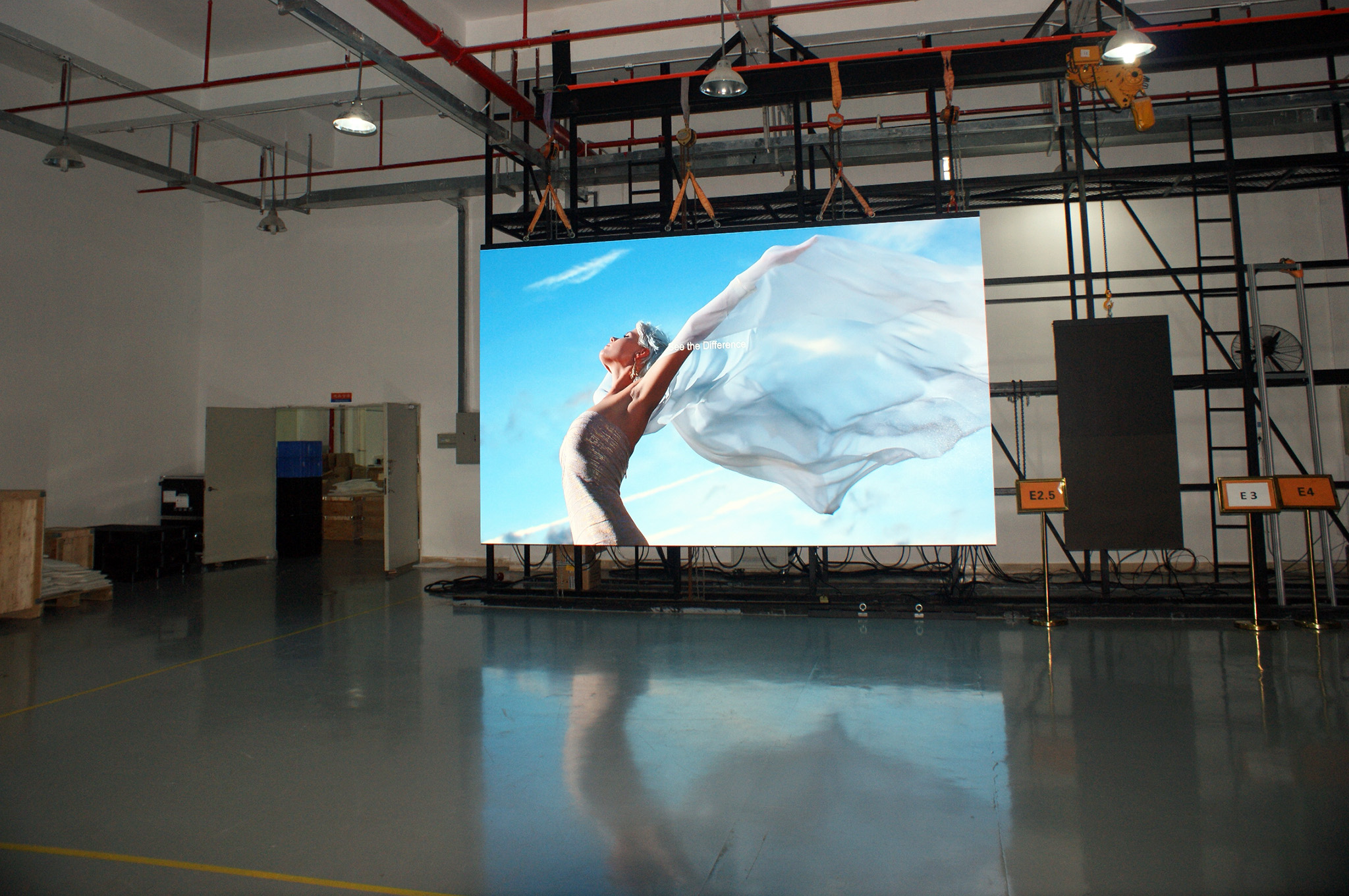 P1.6 Video Wall Display