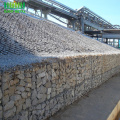 Sungai bank Galvanized gabion bridge kotak perlindungan