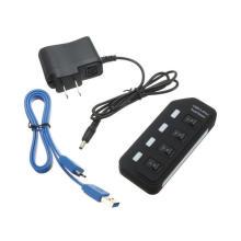 USB 3.0 Hub 4 Ports with Switch