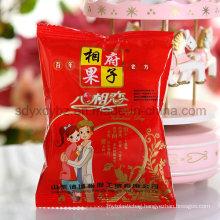 Snack Food 3-Side Sealing Laminated Plastic Packaging Bag