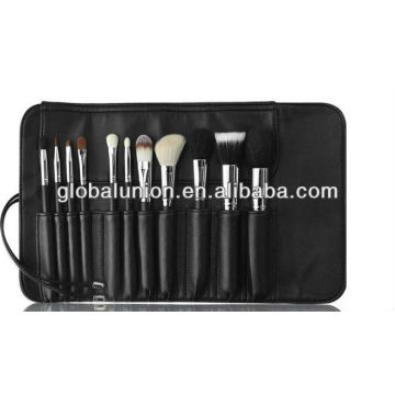 12 pcs makeup brush set goat hair