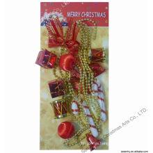 Giftbox Bead strip Guirnalda decorativa hecha a mano de la Navidad