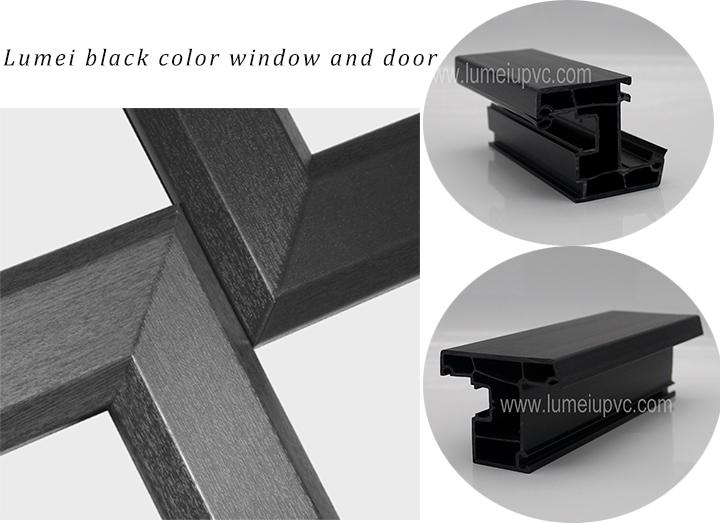 windows and doors pvc profile