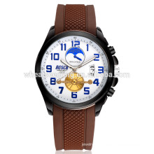 wholesale custom waterproof silicone bracelet watches