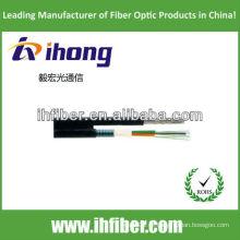 Figura 8 tubo flexível tipo metálico aéreo cabo óptico GYFTC8Y qualidade de alta qualidade