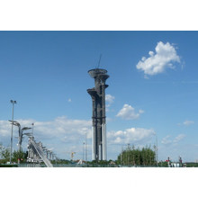 Fire protection and watching tower