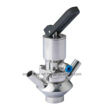 Ss316L Tipo de alavanca de torneamento Válvula de amostra soldada