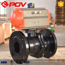 Le POV a fait la connexion WCB bride à clapet pneumatique vanne PN1.6-4.0MPa