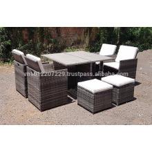 PE Poly Wicker Rattan Outdoor / Gartenmöbel - Lounge Set