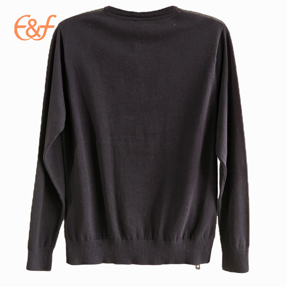 New Fashion Plain Jumpers with Zippers