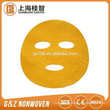 Nonwoven tissu coloré microfibre masque 60gsm corée masque chaud