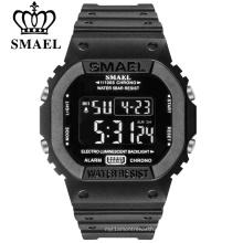 SMAEL Цифровые часы Мужские спортивные часы LED Military