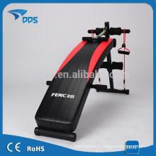 Vente chaude de sport banc de musculation pliant exercice