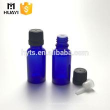 20мл кобальтовый синий цвет стекла эфирное масло бутылка с крышкой