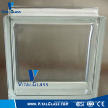 Toughened Safety Clear Pattern Glass Block for Decoration (GB)