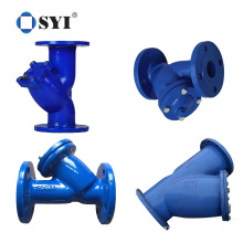 High Quality Ductile Iron Flange Filter Y Strainer for Water Pipeline