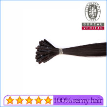 Top Quality 100% Brazilian Human Virgin Hair Stick Flat Tip Hair Extension Remy Hair