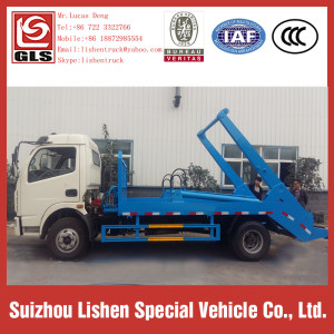 Camion à ordures Dongfeng Swing Arm Roll