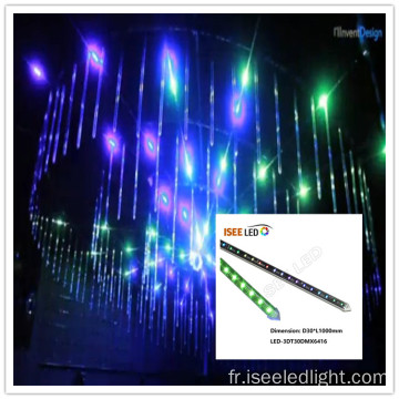 Tube 3d de tube visuel de DMX LED