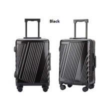 Wholesale PC rolling suitcase aluminium travel luggage