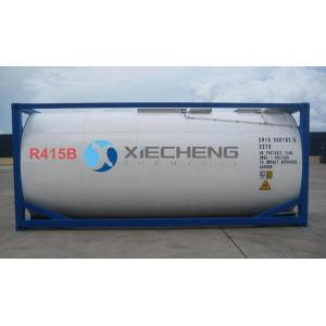 The mixed refrigerant R415B for ISO TANK