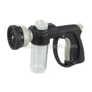 Fertilizer dispensing spray gun