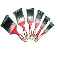 Eterna PB-004 Black bristle plastic OR Wooden handle paint brush cheap style paint brushes