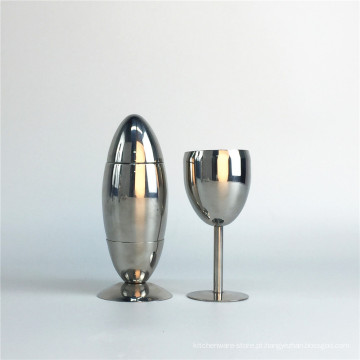 Barra de aço inoxidável Cocktail Shaker & Martini Set Cocktail Shaker Set